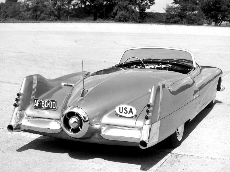 Atlanta Dream Cars - 1951 General Motors LeSabre XP-8 Struck Gold With Yank Tank Ethos of 1950s 15