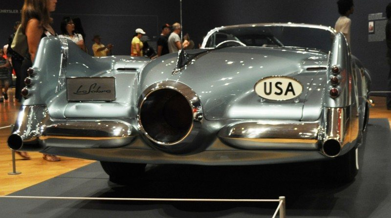 Atlanta Dream Cars - 1951 General Motors LeSabre XP-8 Struck Gold With Yank Tank Ethos of 1950s 16