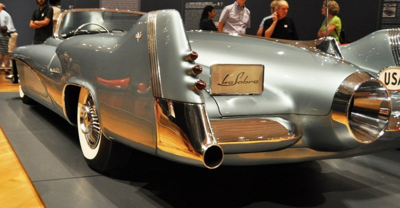 Atlanta Dream Cars - 1951 General Motors LeSabre XP-8 Struck Gold With Yank Tank Ethos of 1950s 18