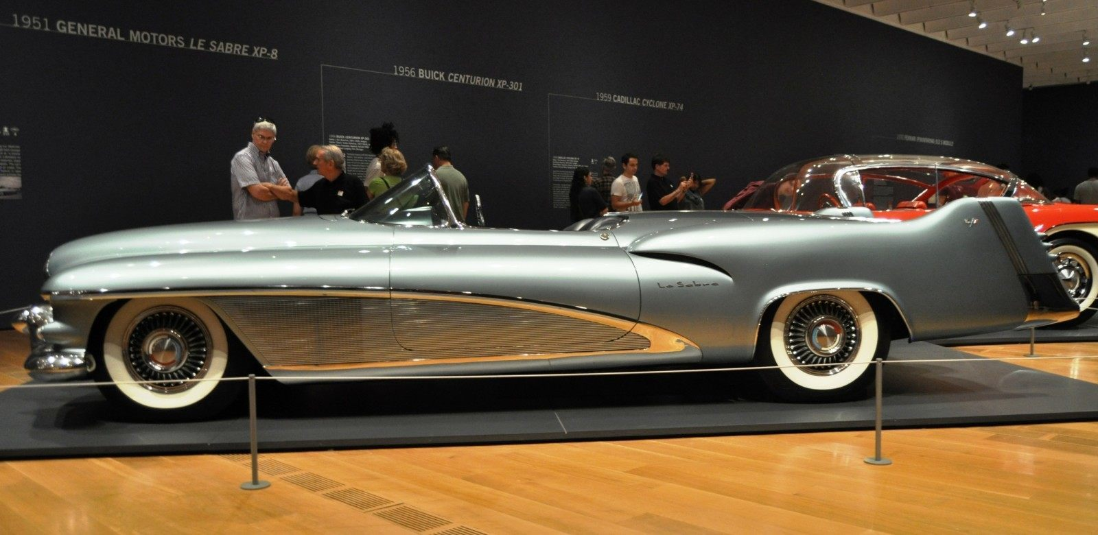 Atlanta Dream Cars - 1951 General Motors LeSabre XP-8 Struck Gold With Yank Tank Ethos of 1950s 19