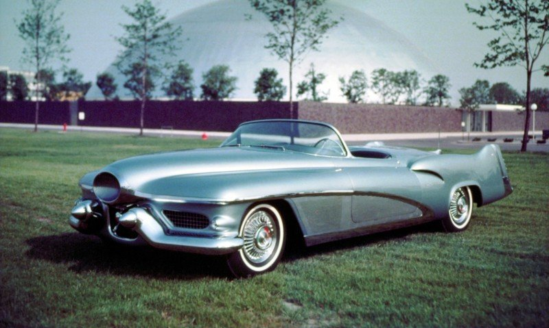 Atlanta Dream Cars - 1951 General Motors LeSabre XP-8 Struck Gold With Yank Tank Ethos of 1950s 2
