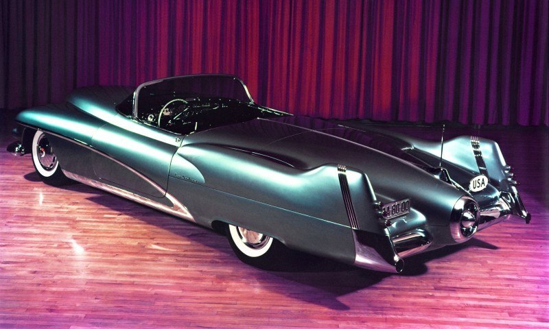 Atlanta Dream Cars - 1951 General Motors LeSabre XP-8 Struck Gold With Yank Tank Ethos of 1950s 4
