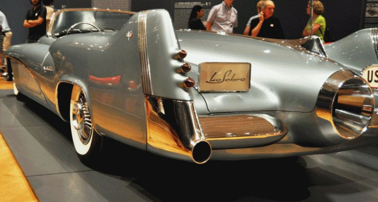 Atlanta Dream Cars - 1951 General Motors LeSabre XP-8 Struck Gold With Yank Tank Ethos of 1950s 6