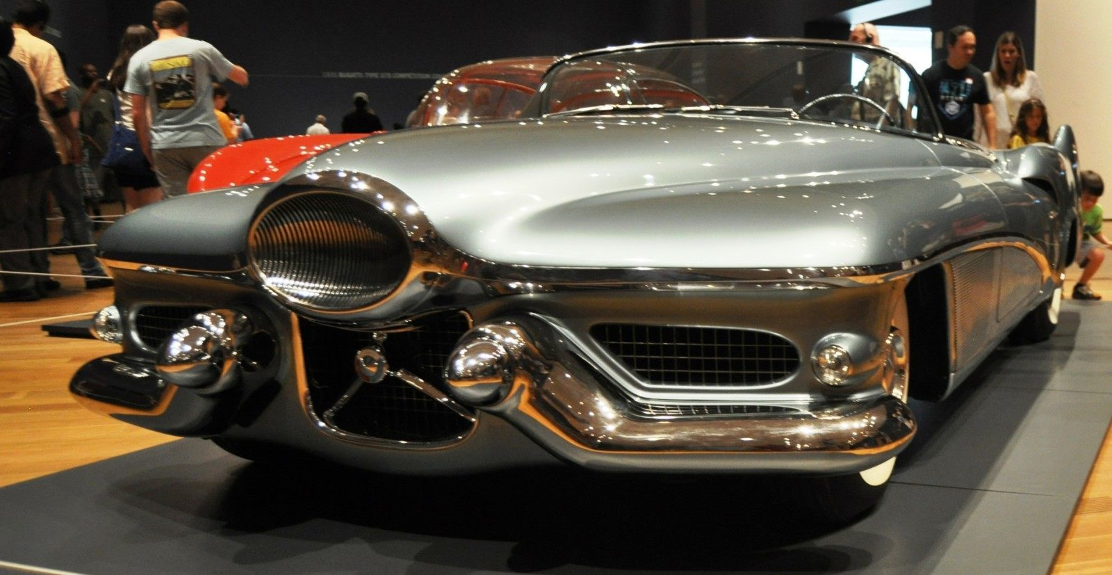 Atlanta Dream Cars - 1951 General Motors LeSabre XP-8 Struck Gold With Yank Tank Ethos of 1950s 7