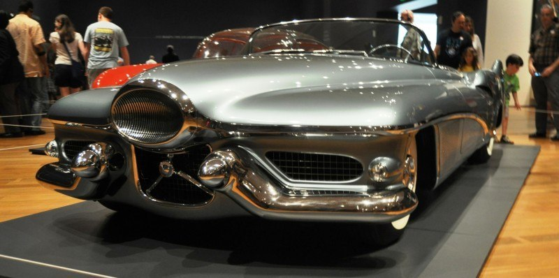 Atlanta Dream Cars - 1951 General Motors LeSabre XP-8 Struck Gold With Yank Tank Ethos of 1950s 8