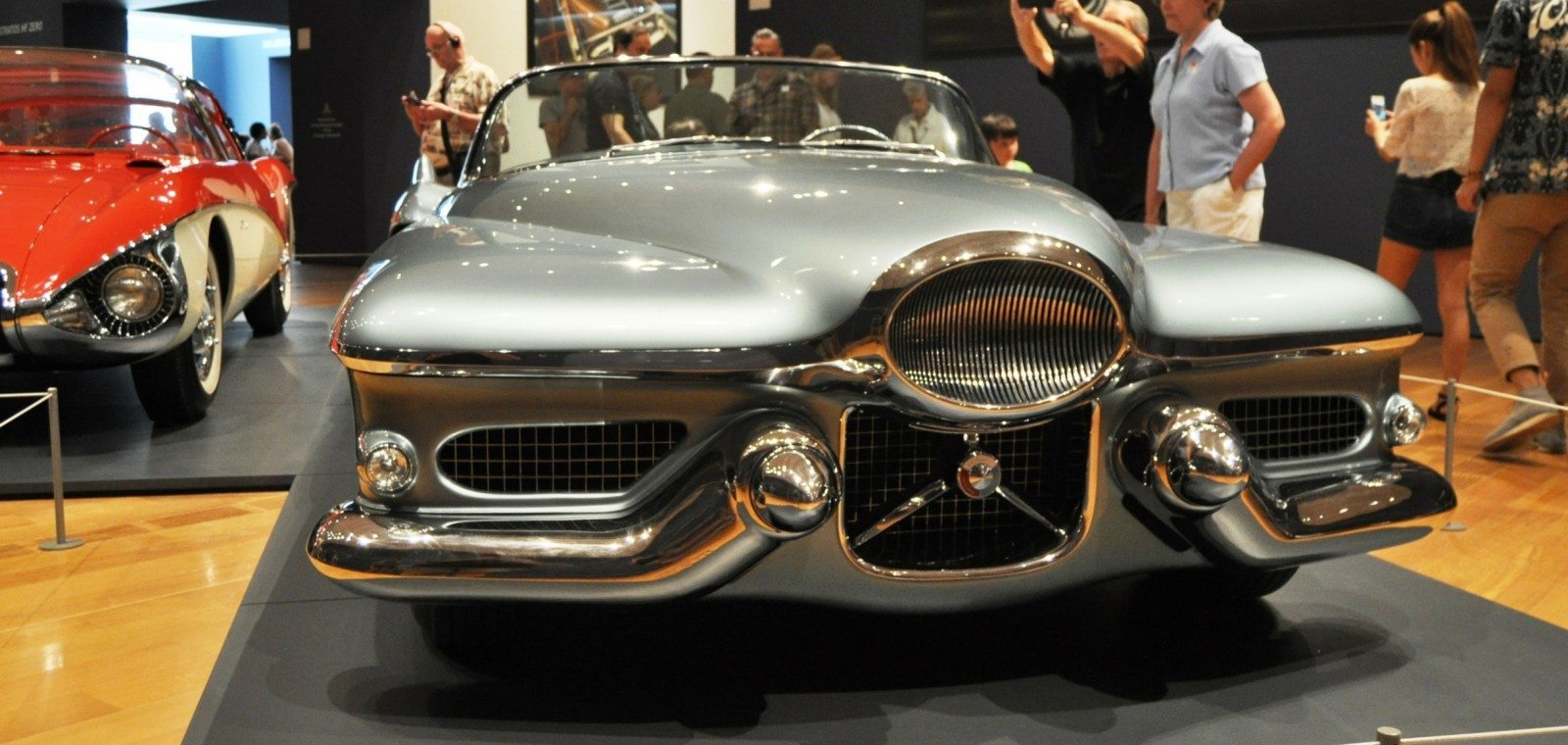 Atlanta Dream Cars - 1951 General Motors LeSabre XP-8 Struck Gold With Yank Tank Ethos of 1950s 9