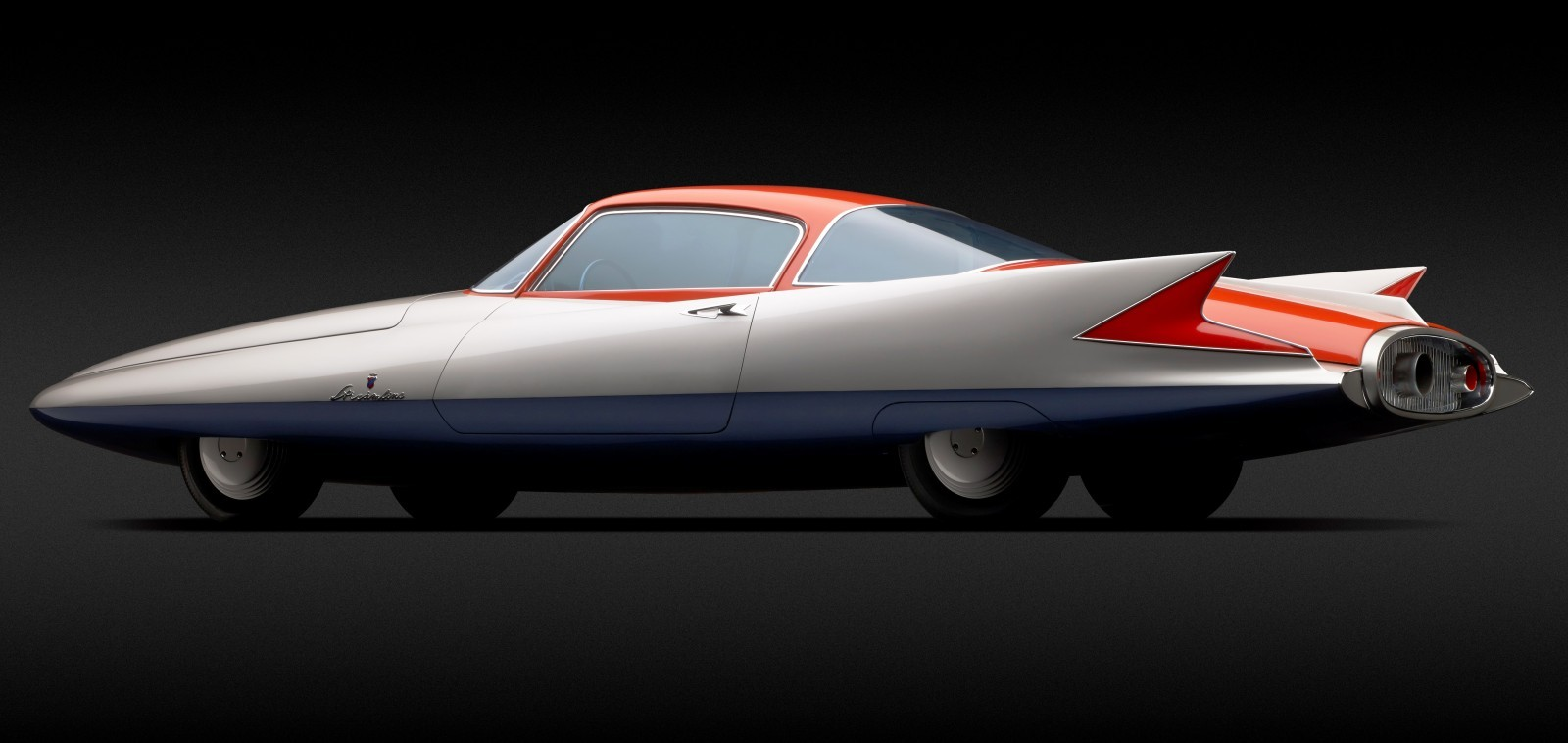 Atlanta Dream Cars - 1955 Chrysler Streamline X Ghilda by GHIA is Turbine Car Ideal 1