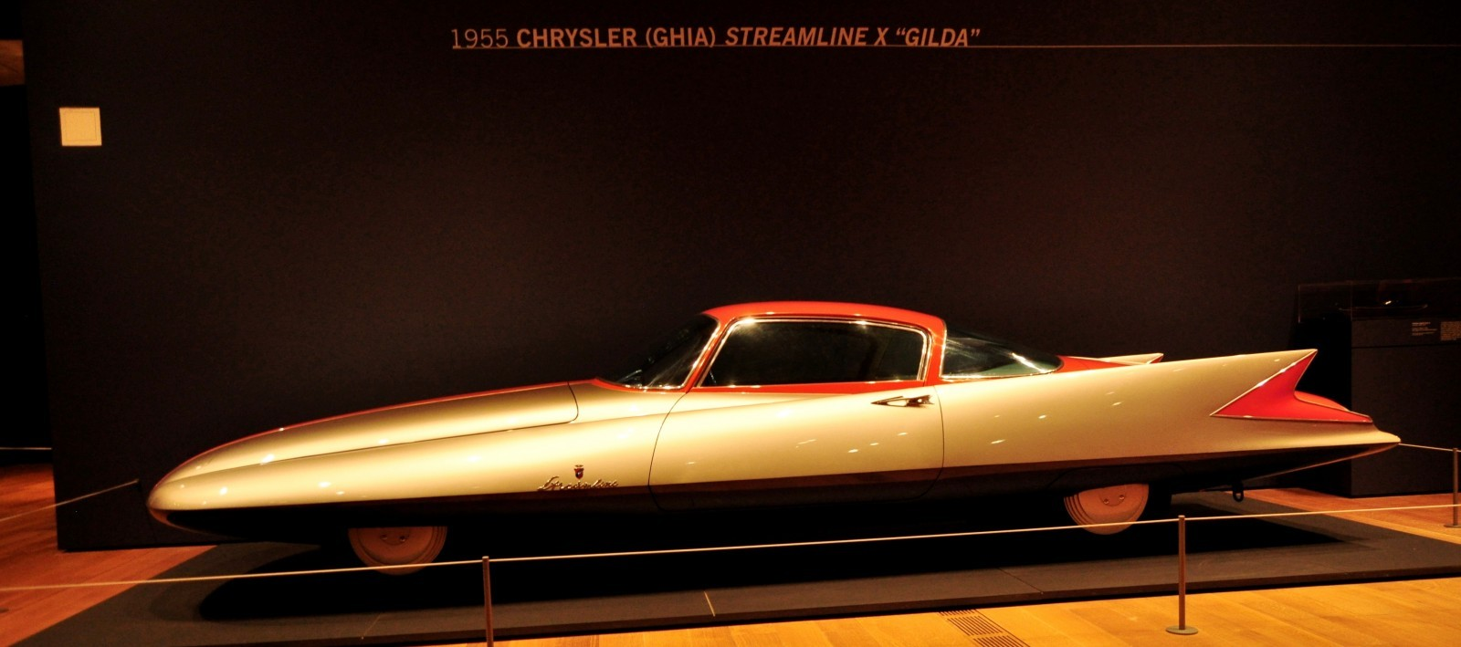 Atlanta Dream Cars - 1955 Chrysler Streamline X Ghilda by GHIA is Turbine Car Ideal 10