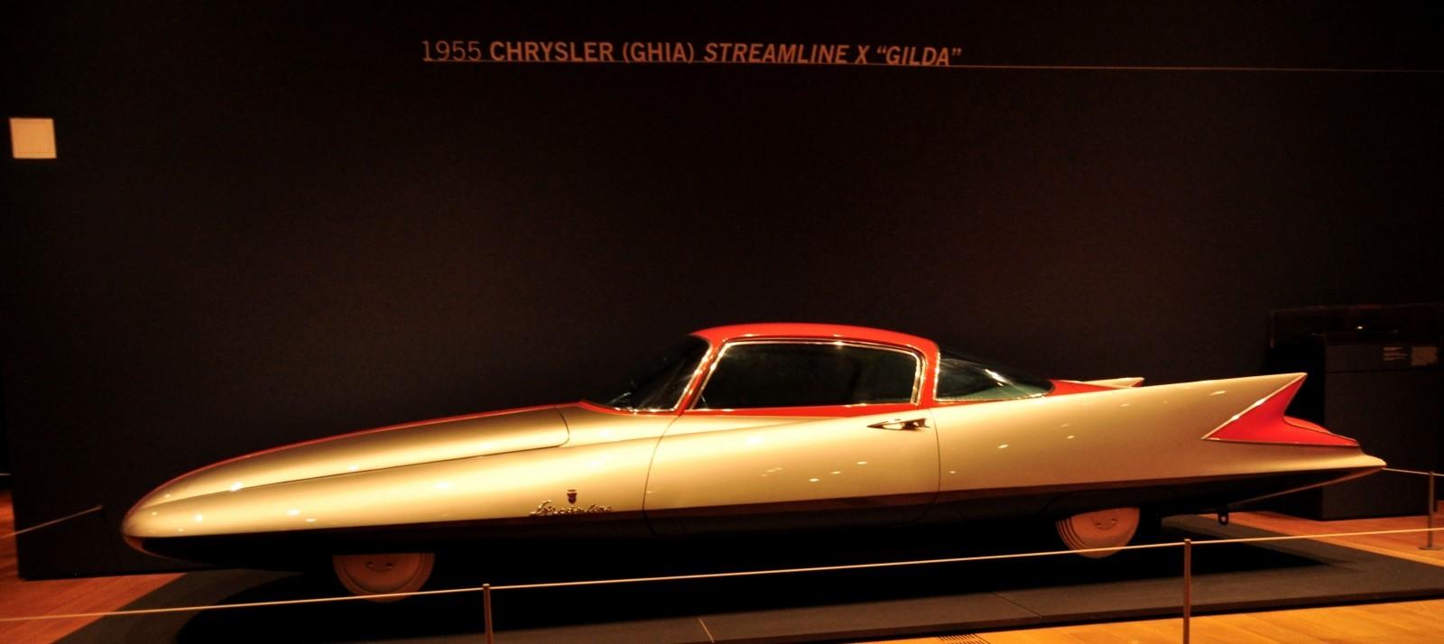 Atlanta Dream Cars - 1955 Chrysler Streamline X Ghilda by GHIA is Turbine Car Ideal 11