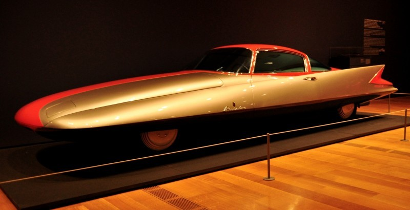 Atlanta Dream Cars - 1955 Chrysler Streamline X Ghilda by GHIA is Turbine Car Ideal 12