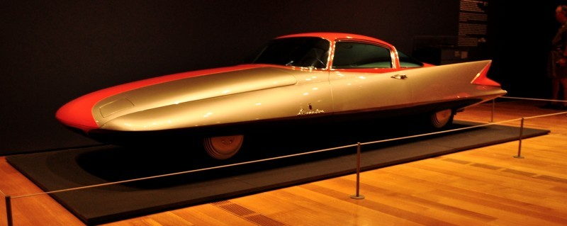 Atlanta Dream Cars - 1955 Chrysler Streamline X Ghilda by GHIA is Turbine Car Ideal 13