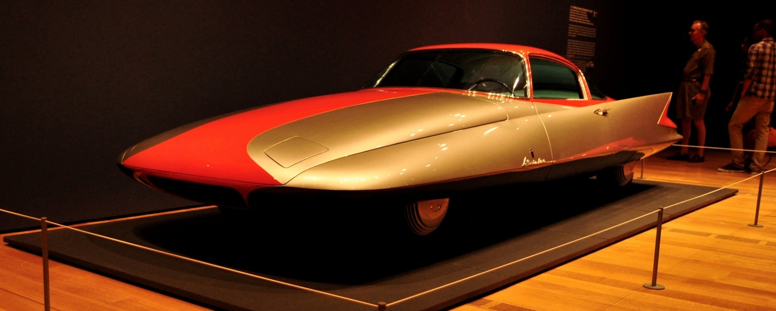 Atlanta Dream Cars - 1955 Chrysler Streamline X Ghilda by GHIA is Turbine Car Ideal 14
