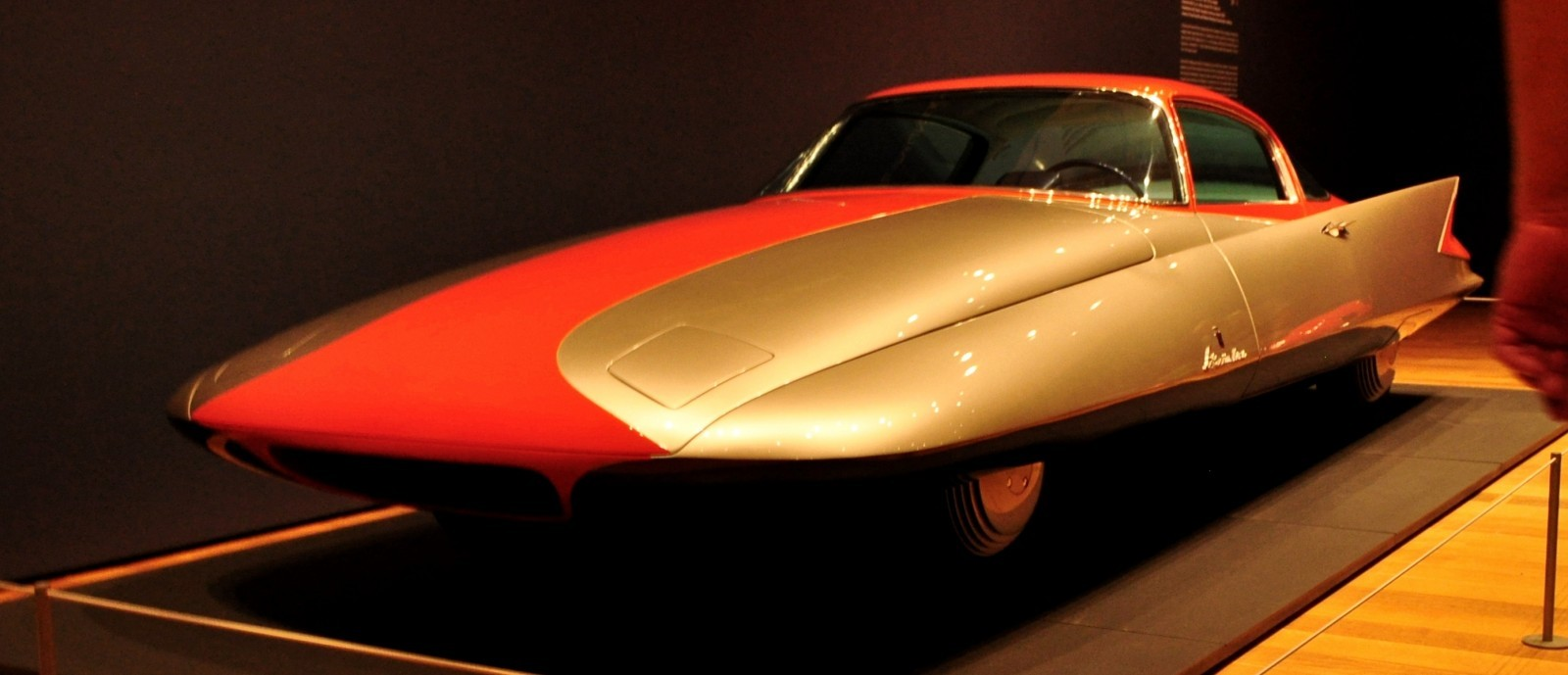 Atlanta Dream Cars - 1955 Chrysler Streamline X Ghilda by GHIA is Turbine Car Ideal 15