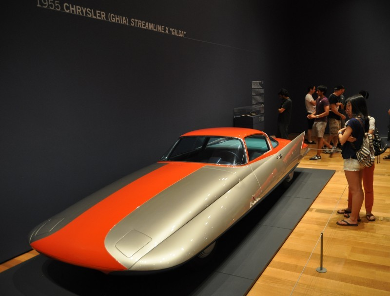 Atlanta Dream Cars - 1955 Chrysler Streamline X Ghilda by GHIA is Turbine Car Ideal 18