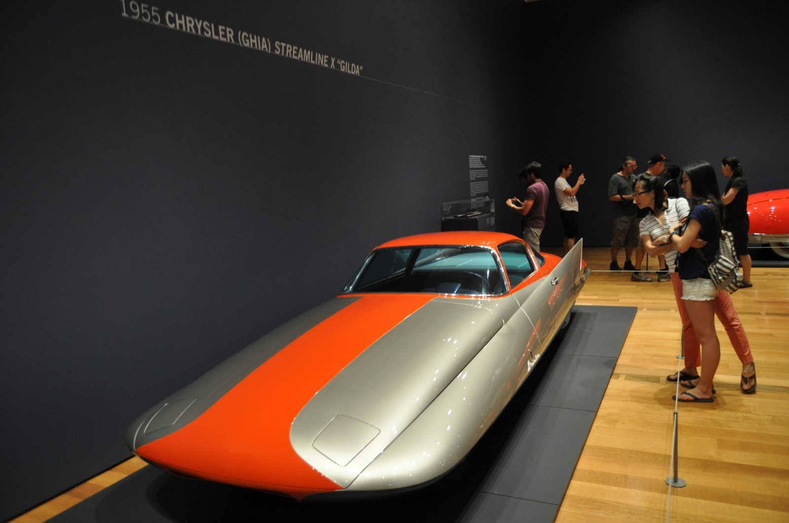 Atlanta Dream Cars - 1955 Chrysler Streamline X Ghilda by GHIA is Turbine Car Ideal 19