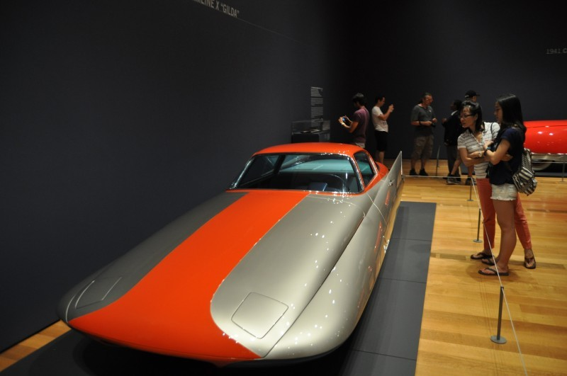 Atlanta Dream Cars - 1955 Chrysler Streamline X Ghilda by GHIA is Turbine Car Ideal 20