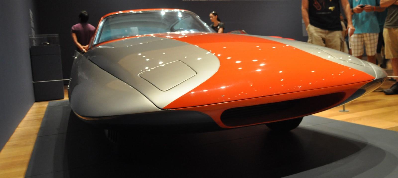 Atlanta Dream Cars - 1955 Chrysler Streamline X Ghilda by GHIA is Turbine Car Ideal 21
