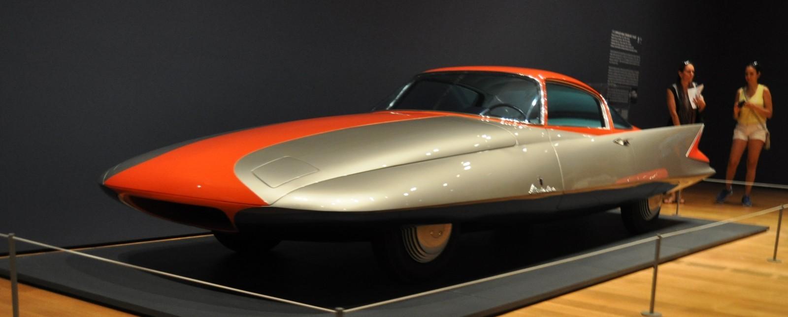 Atlanta Dream Cars - 1955 Chrysler Streamline X Ghilda by GHIA is Turbine Car Ideal 23