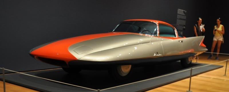 Atlanta Dream Cars - 1955 Chrysler Streamline X Ghilda by GHIA is Turbine Car Ideal 23