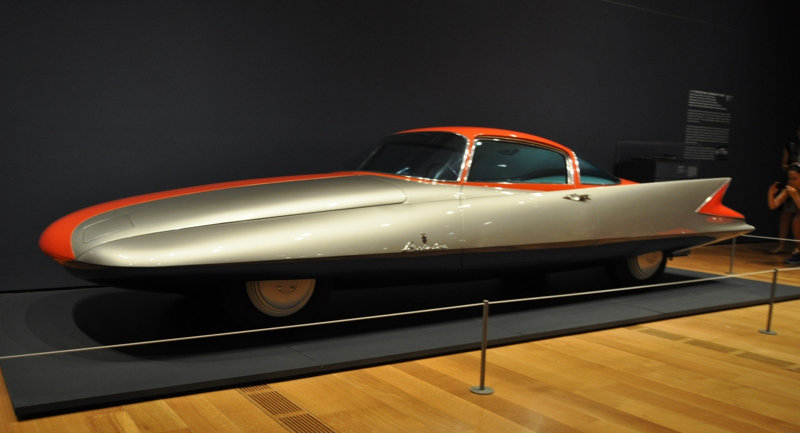 Atlanta Dream Cars - 1955 Chrysler Streamline X Ghilda by GHIA is Turbine Car Ideal 24