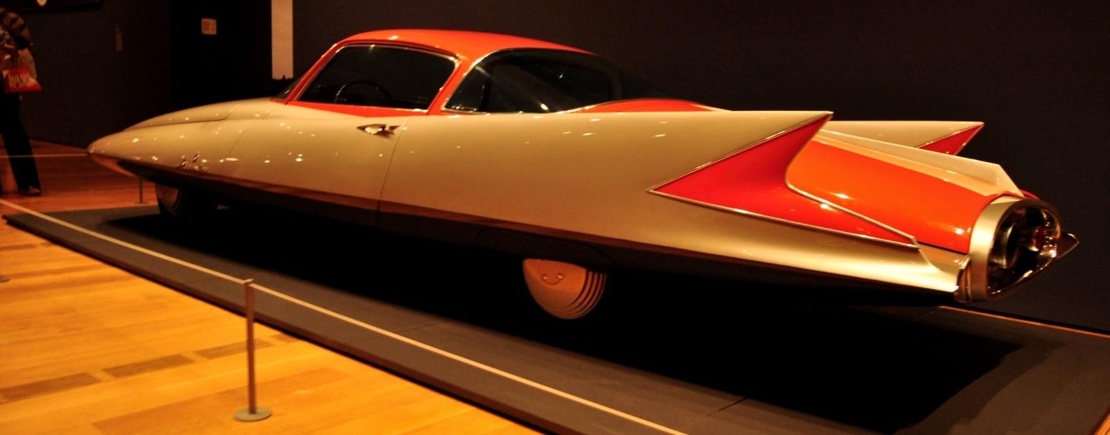 Atlanta Dream Cars - 1955 Chrysler Streamline X Ghilda by GHIA is Turbine Car Ideal 7
