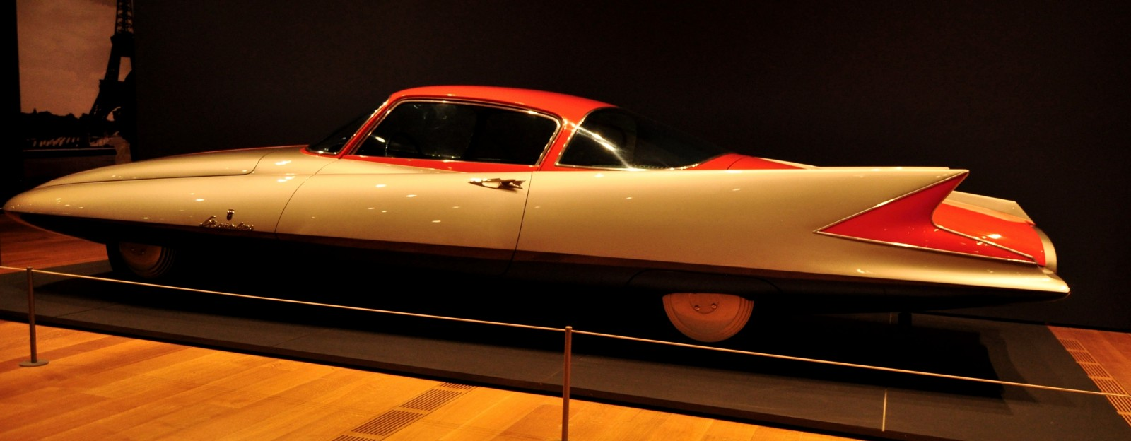 Atlanta Dream Cars - 1955 Chrysler Streamline X Ghilda by GHIA is Turbine Car Ideal 8