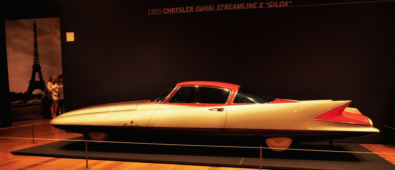 Atlanta Dream Cars - 1955 Chrysler Streamline X Ghilda by GHIA is Turbine Car Ideal 9