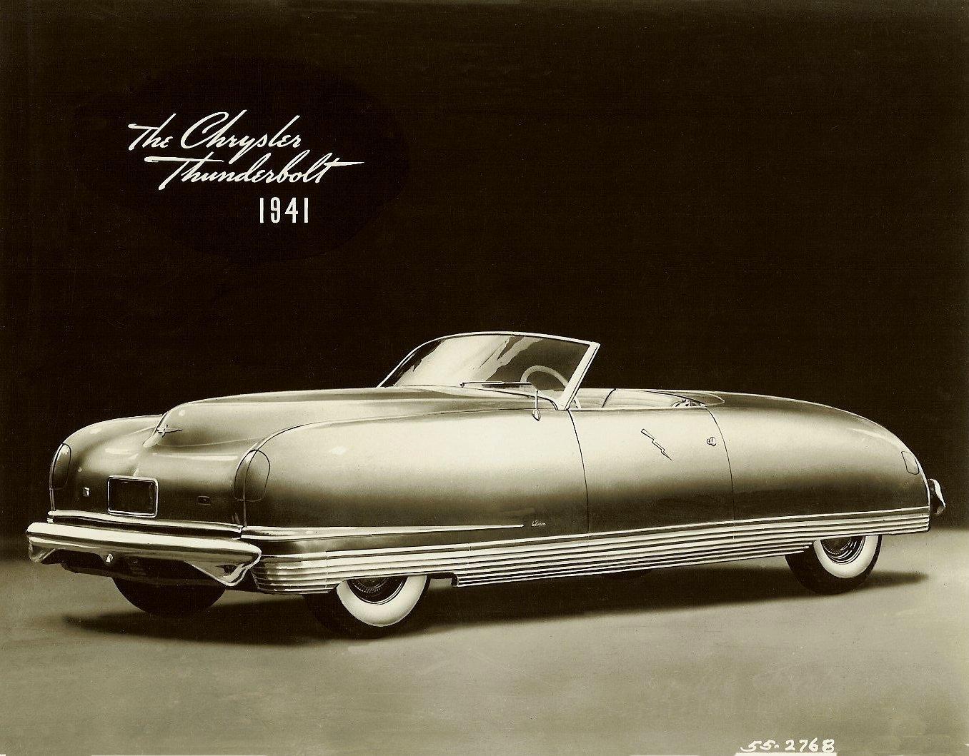 Atlanta Dream Cars Showcase - 1941 Chrysler Thunderbolt Is Aero Convertible Coupe 1