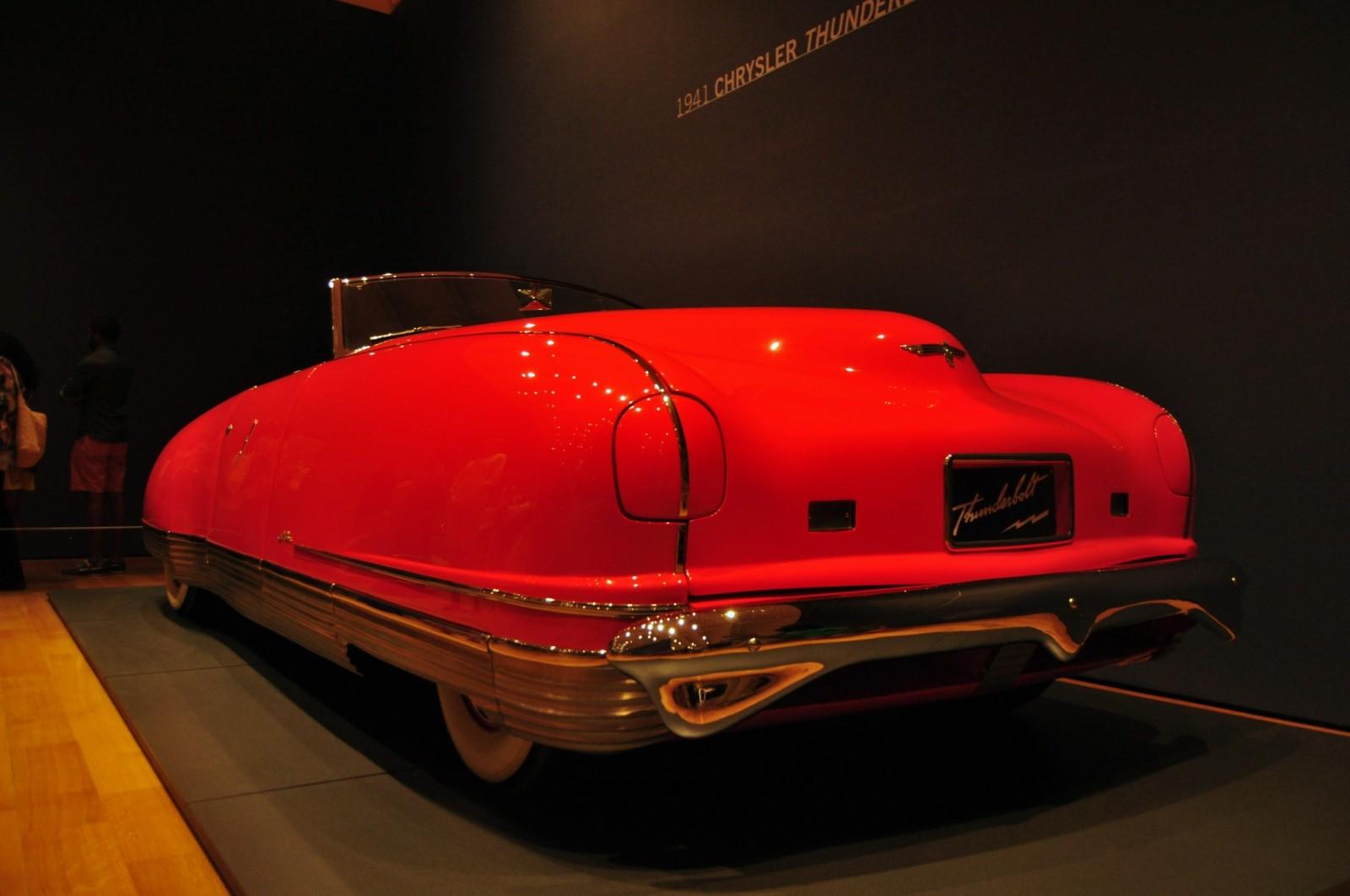 Atlanta Dream Cars Showcase - 1941 Chrysler Thunderbolt Is Aero Convertible Coupe 12