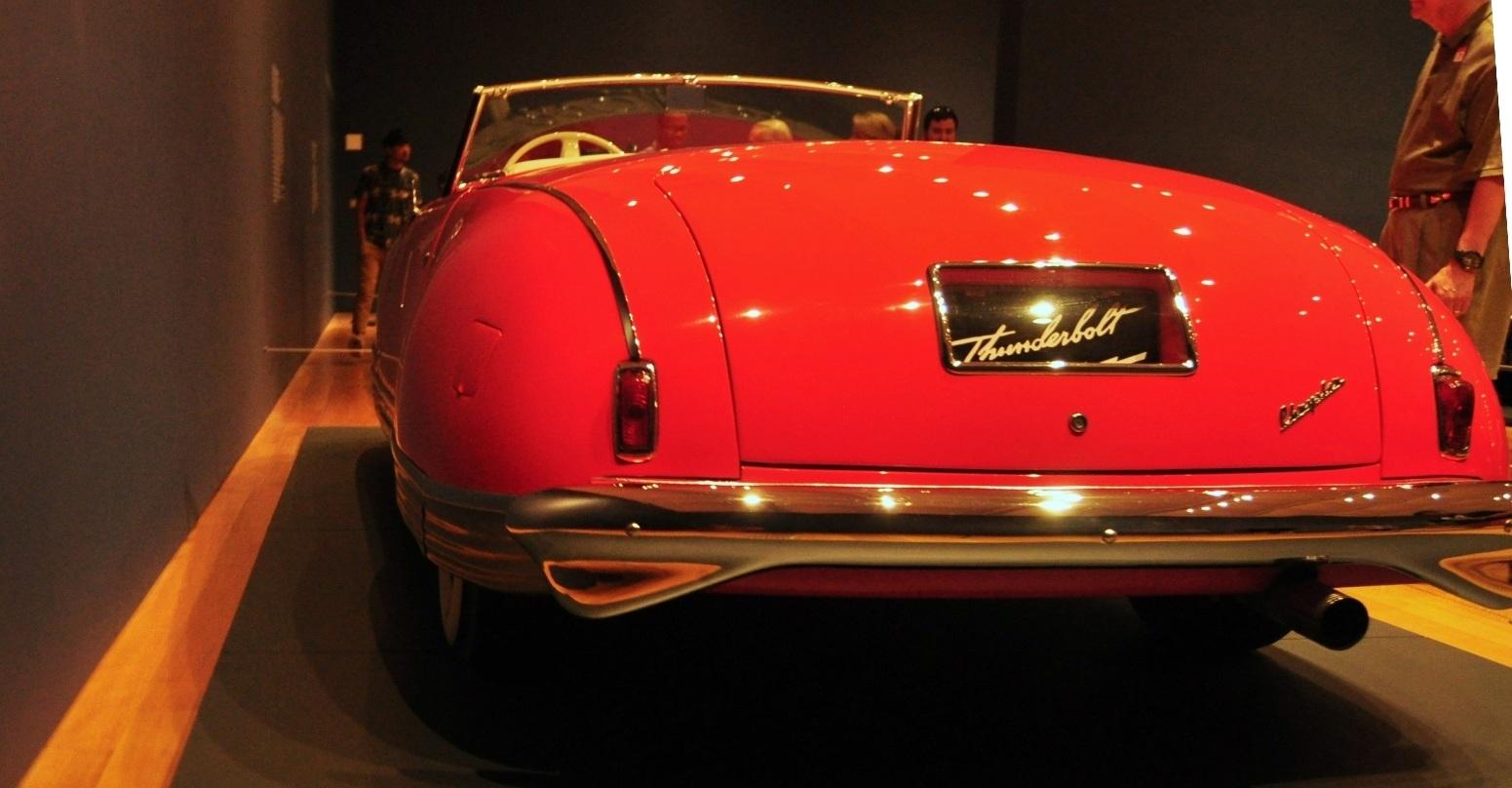 Atlanta Dream Cars Showcase - 1941 Chrysler Thunderbolt Is Aero Convertible Coupe 14