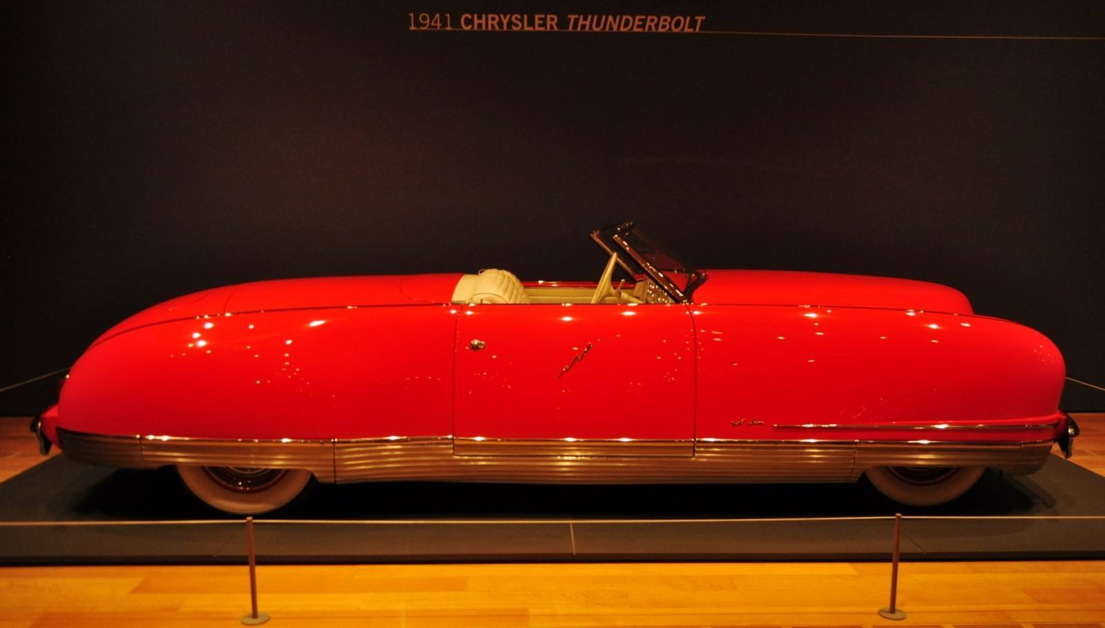 Atlanta Dream Cars Showcase - 1941 Chrysler Thunderbolt Is Aero Convertible Coupe 18