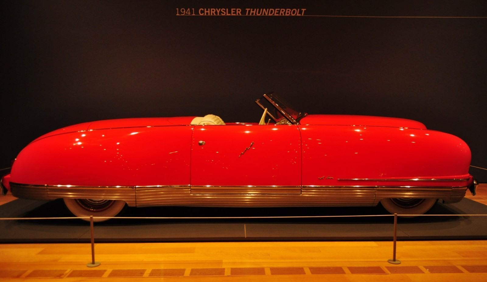 Atlanta Dream Cars Showcase - 1941 Chrysler Thunderbolt Is Aero Convertible Coupe 19