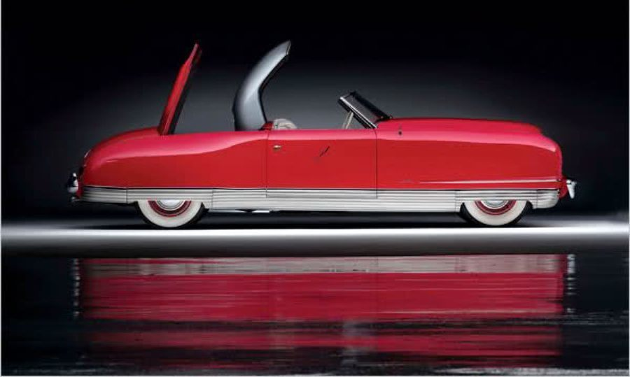 Atlanta Dream Cars Showcase - 1941 Chrysler Thunderbolt Is Aero Convertible Coupe 3