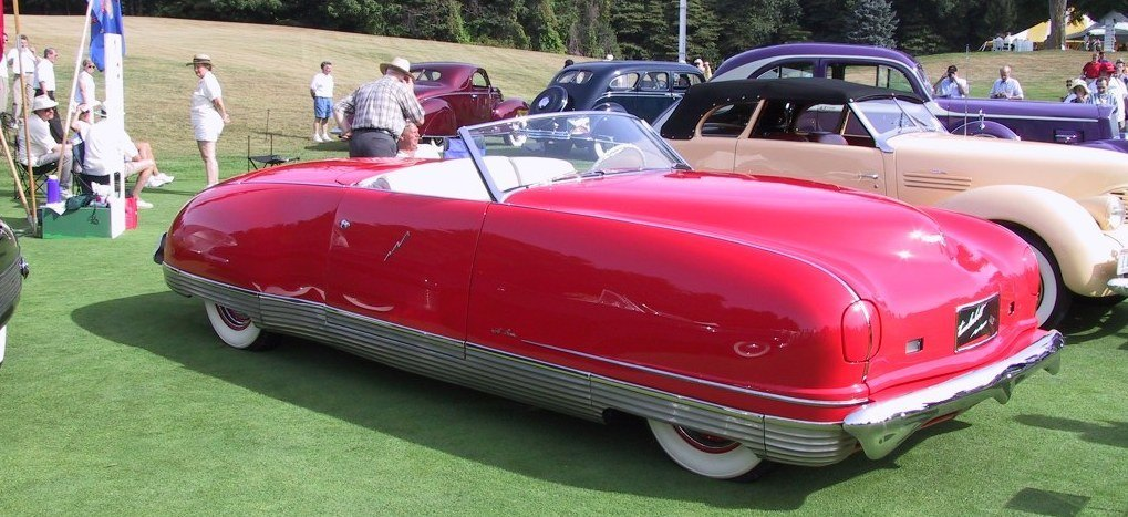 Atlanta Dream Cars Showcase - 1941 Chrysler Thunderbolt Is Aero Convertible Coupe 5