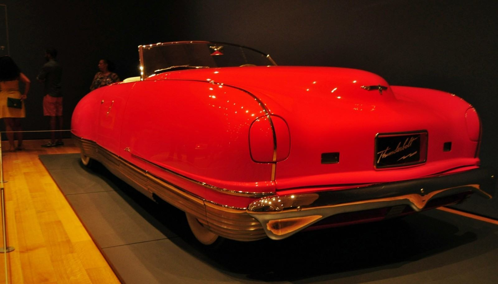 Atlanta Dream Cars Showcase - 1941 Chrysler Thunderbolt Is Aero Convertible Coupe 9