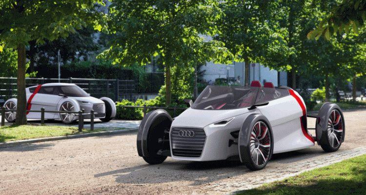 Audi Urban Concept Spyder gif