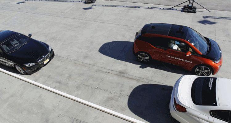 Autoparking BMW i3 GIF