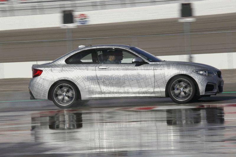 BMW 235i Drift GIF1