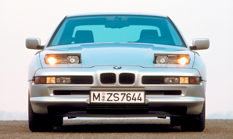 BMW E31 840i, 850i and 850CSi Celebrate 25th-Anniversary Homecoming in Munchen 15