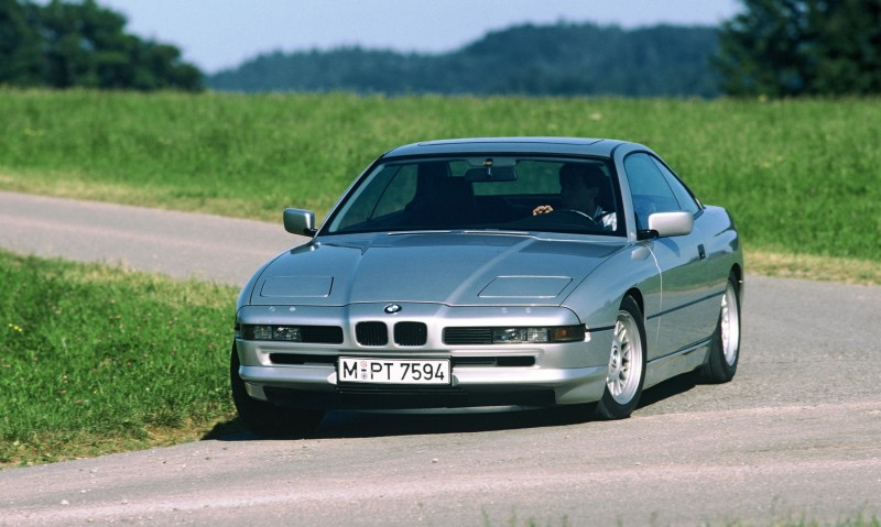 BMW E31 840i, 850i and 850CSi Celebrate 25th-Anniversary Homecoming in Munchen 18
