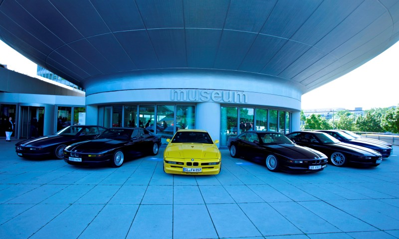 BMW E31 840i, 850i and 850CSi Celebrate 25th-Anniversary Homecoming in Munchen 20