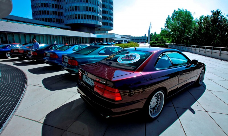 BMW E31 840i, 850i and 850CSi Celebrate 25th-Anniversary Homecoming in Munchen 21