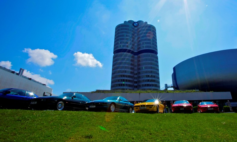 BMW E31 840i, 850i and 850CSi Celebrate 25th-Anniversary Homecoming in Munchen 26