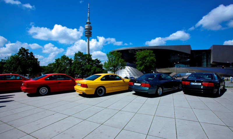 BMW E31 840i, 850i and 850CSi Celebrate 25th-Anniversary Homecoming in Munchen 27
