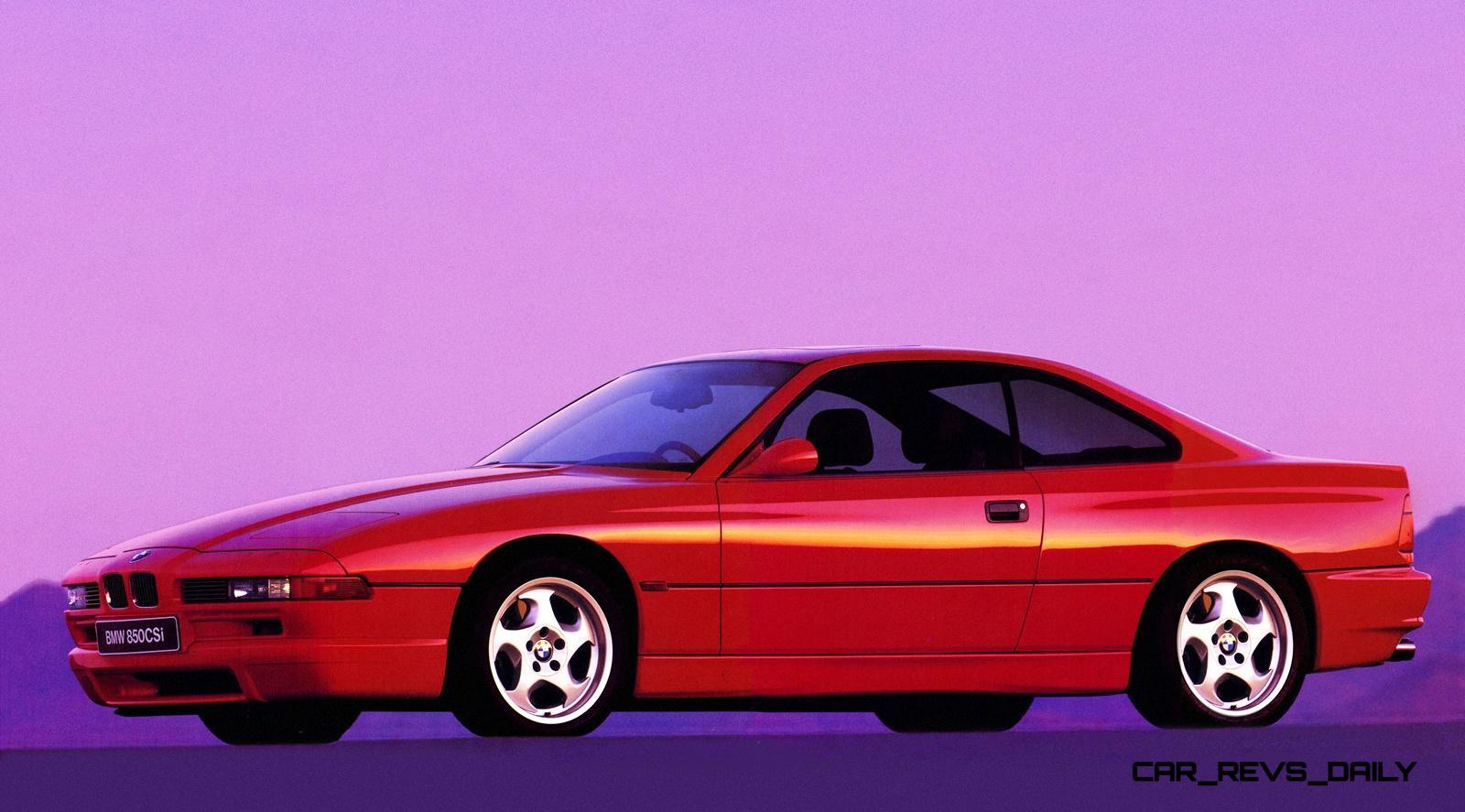 Bmw E31 840i 850i And 850csi Celebrate 25th Anniversary