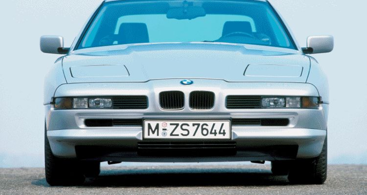 BMW E31 840i, 850i and 850CSi gif