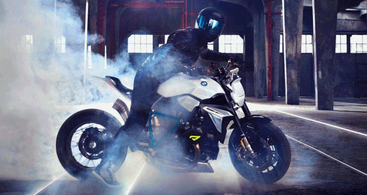 BMW Motorrad - Concept Roadster GIF header