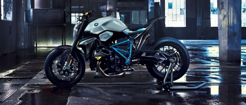 BMW Motorrad - Concept Roadster is Boxer Basics Motorcycle for Lake Cuomo 1
