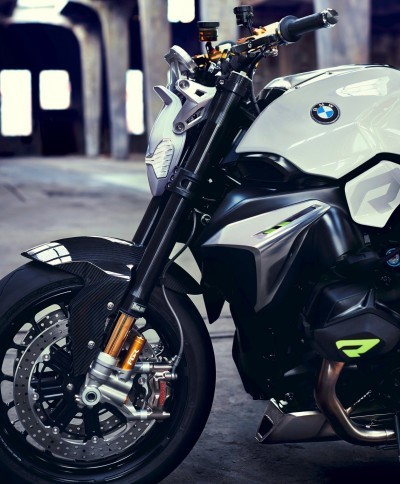 BMW Motorrad - Concept Roadster is Boxer Basics Motorcycle for Lake Cuomo 12