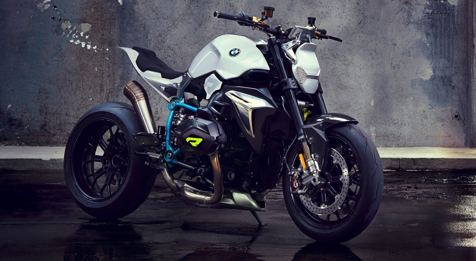 bmw motorrad concept roadster is boxer ducati fighter. Black Bedroom Furniture Sets. Home Design Ideas